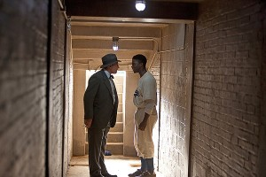 Harrison Ford y Chadwick Boseman