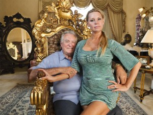 El matrimonio David y Jackie Siegel