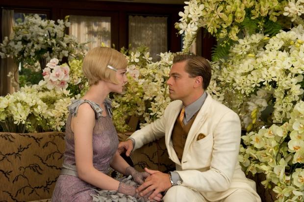 Carey Mulligan y Leonardo DiCaprio en THE GREAT GATSBY