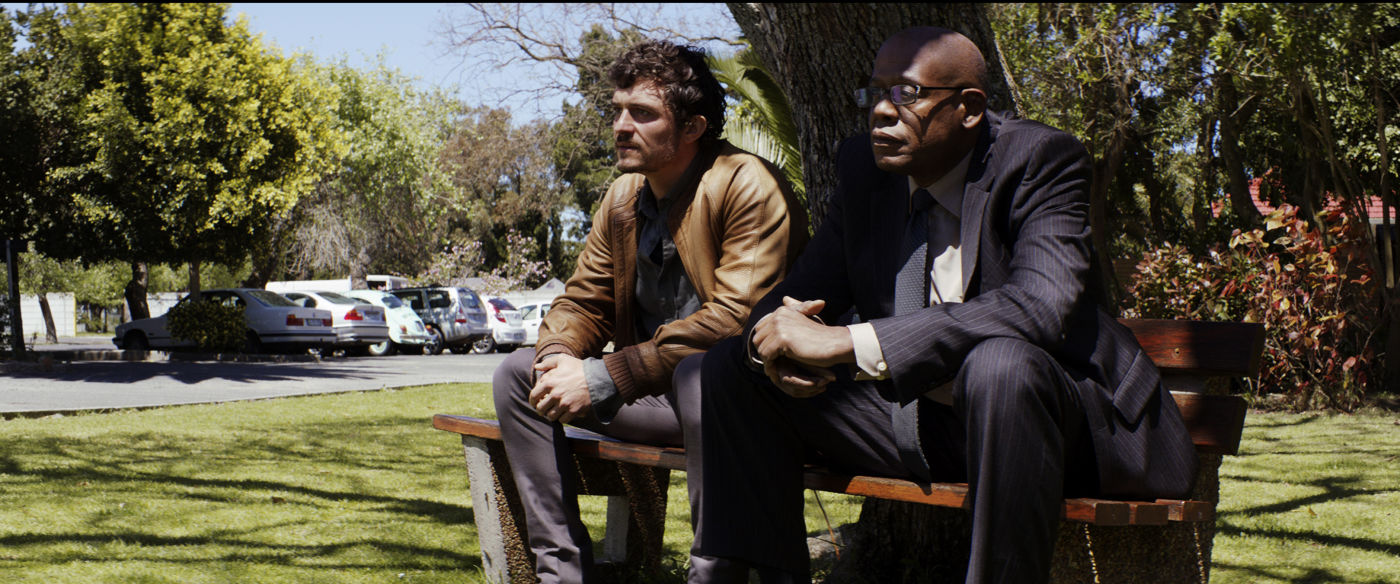 Orlando Bloom y Forest Whitaker en el film de clausura ZULU