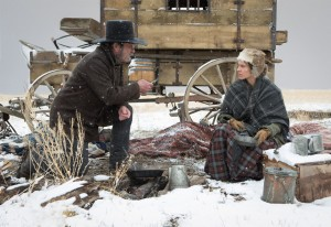 Tommy Lee Jones y Hilary Swank en THE HOMESMAN
