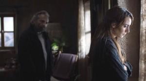 Haluk Bilginer y Melisa Sozen en  WINTER SLEEP