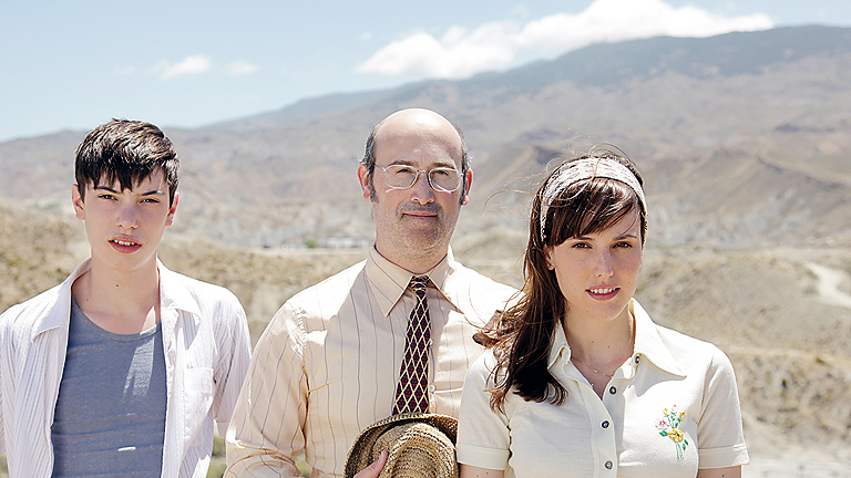 Francesc Colomer, Javier Cámara y Natalia de Molina
