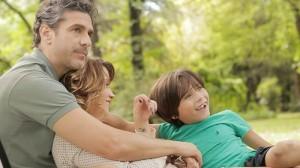 L. Sbaraglia, C. Kid y M. Silva en AIRE LIBRE