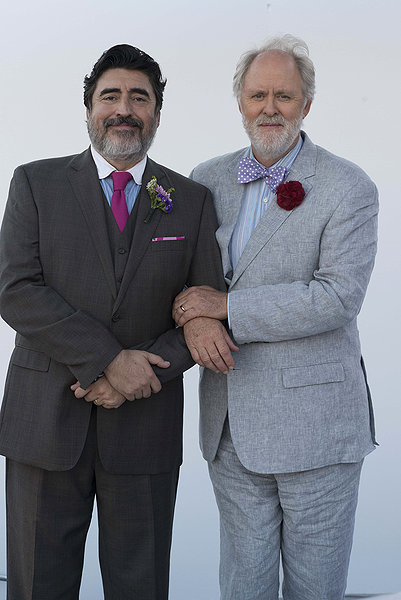 Alfred Molina y John Lithgow en LOVE IS STRANGE