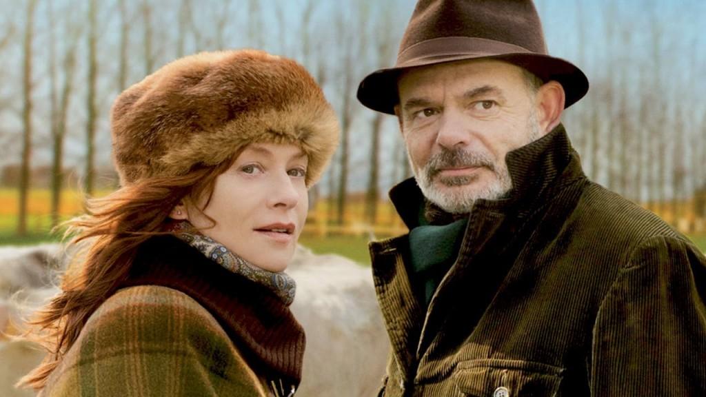Isabelle Huppert y Jean Pierre Darrousin