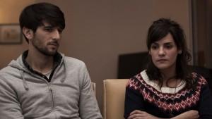 Juan Barberini y Pilar Gamboa en EL INCENDIO