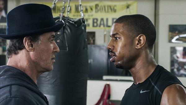 Sylvester Stallone y Michael B. Jordan