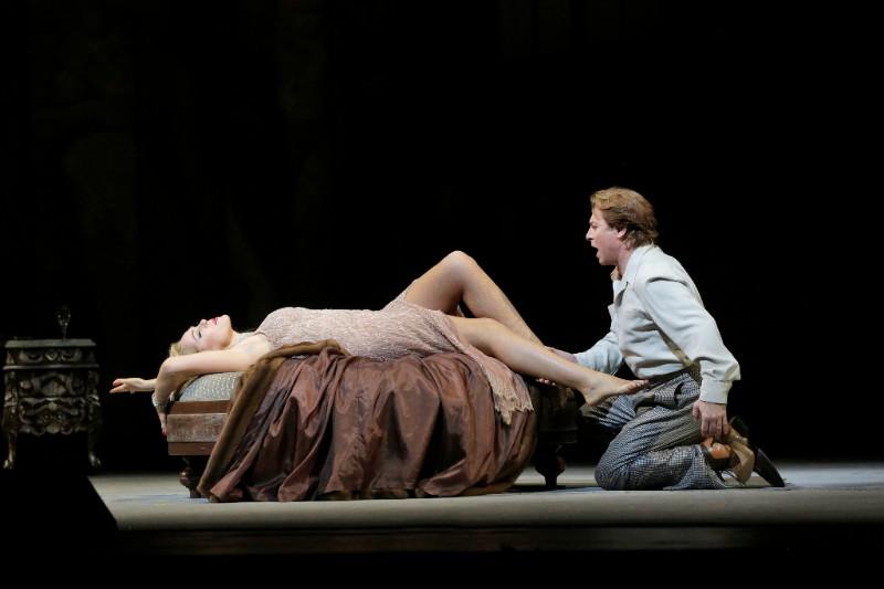 Kristine Opolais y Roberto Alagna (Foto de Ken Howard(. MET)