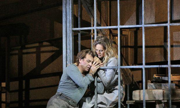 Roberto Alagna y Kristine Opolais (Foto de Ken Howard(. MET)