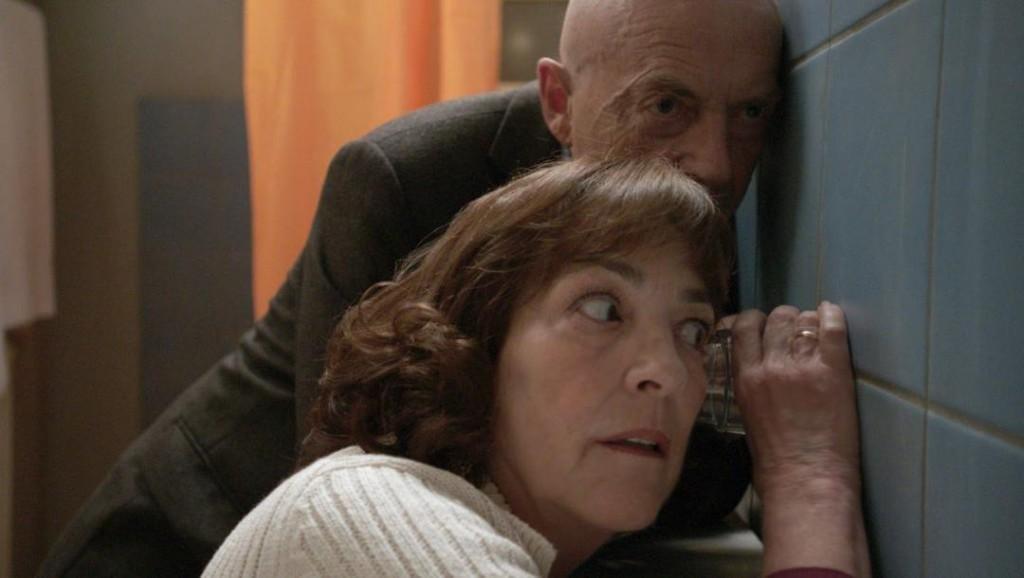 Patrice Lapp y Carmen Maura