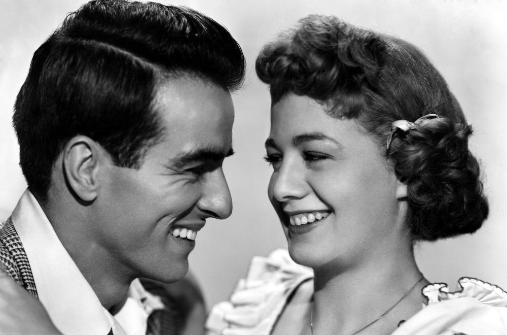 Shelley Winters y Montgomery Clift