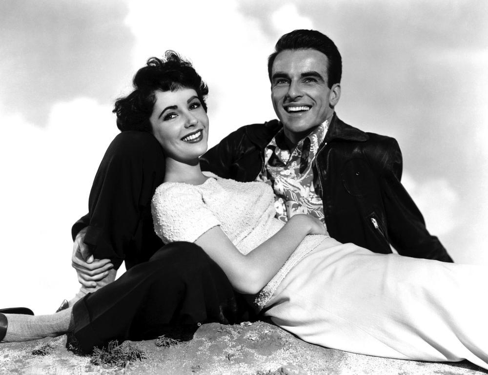 Elizabeth Taylor y Montgomery Clift