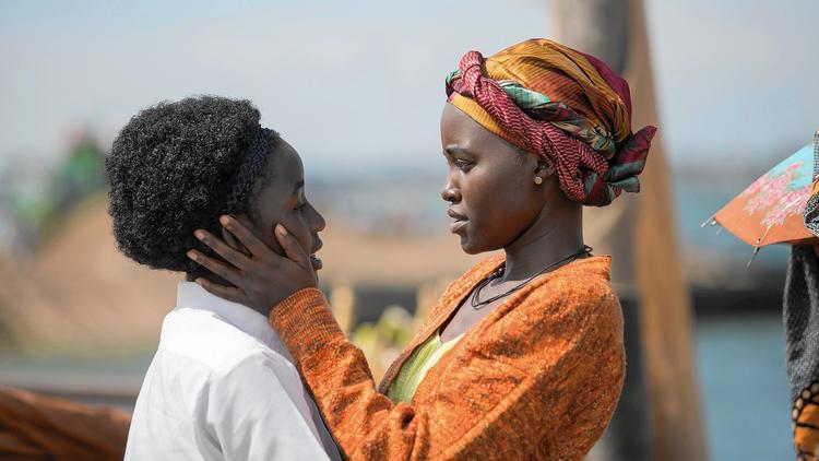 Madina Nalwanga y Lupita Nyong