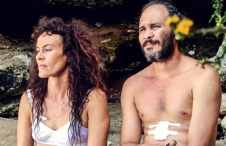 Lola Amores y Eduardo Martínez en SANTA & ANDRÉS