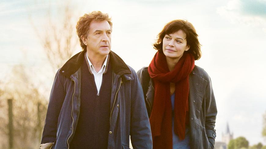 François Cluzet y Marianne Denicourt