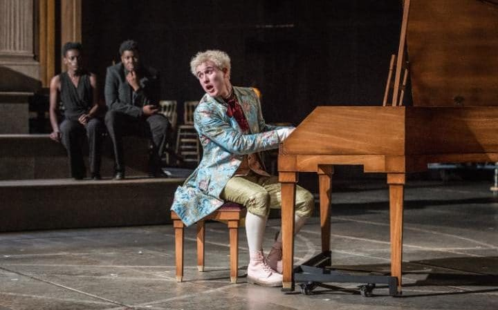 Adam Gillen y Lucian Msamati. Foto de Marc Brenner (National Theatre)