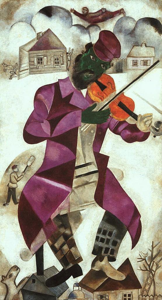 El Violinista Verde (Foto de The Solomon R. Guggenheim Foundation)