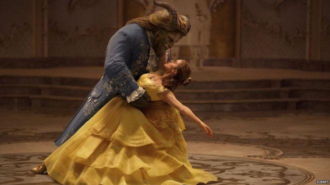 Dan Stevens y Emma Watson