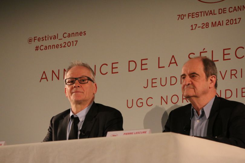 Thierry Frémaux y Pierre Lescure