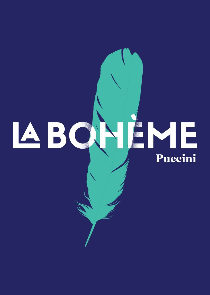 ODM. Poster de LA BOHEME