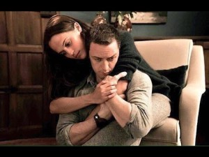 Alicia Vikander y James McAvoy en SUBMERGENCE